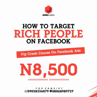 HOW TO TARGET RICH PEOPLE ON FACEBOOK VIP COURSE